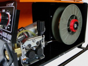 Принцип работы подающего механизма для сварочного полуавтомата