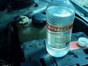 Промывка двигателя сольвентом