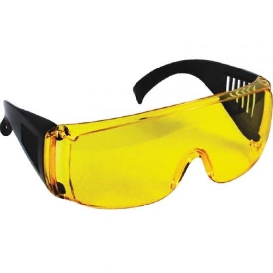 Очки защитные с дужками желтые FIT 12220