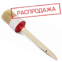 Кисть круглая №12/45, нат. щетина, дер. ручка (арт. 01141-45)
