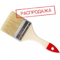 """Кисть плоская ПРОФИ 4""""/100 мм (арт. 100А-В-100)"""