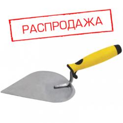 Мастерок нержавеющий, мягкая ручка, Профи, штукатура 190 мм FIT 05075