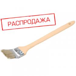 """Кисть радиаторная 1,5""""/38 мм дерев. ручка (арт. 070-1106-38)"""