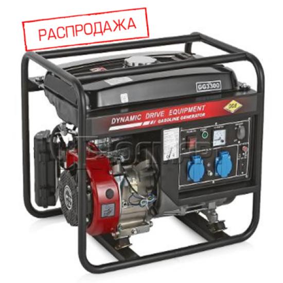 БЕНЗИНОВАЯ ЭЛЕКТРОСТАНЦИЯ DDE GG3300