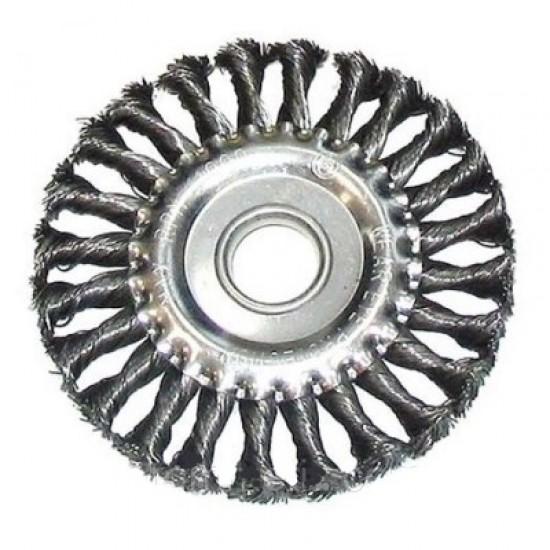 Щетка КРАТОН для УШМ дисковая усиленная 125х22,2 (арт. 1 11 02 007)