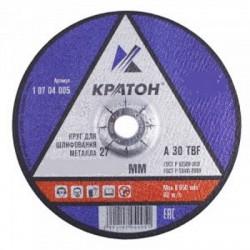 Круг шлифовальный по металлу КРАТОН 115х6,0х22,2