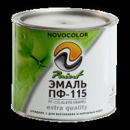 Эмаль ПФ-115 шоколадная НОВОКОЛОР 1,9 кг