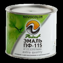 Эмаль ПФ-115 белая НОВОКОЛОР 1,9 кг