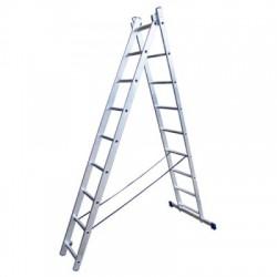 Лестница алюминиевая двухсекционная 5206 (168/252 см)
