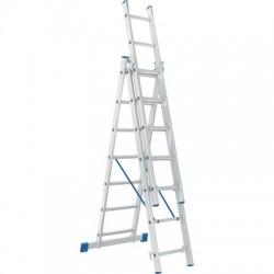 Лестница алюминиевая трехсекционная 5306 (168/251/336 см)