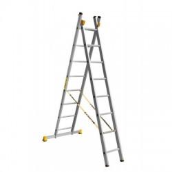 Лестница алюминиевая двухсекционная П2 9208 (241/374 см)