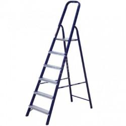 Лестница-стремянка 40х20 стальная 6-ти ступенчатая М8406 (124 см)