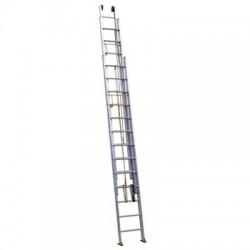 Лестница алюминиевая трехсекционная выдвижная с тросом 3318 (5,12*13,1 м)