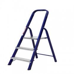 Лестница-стремянка 40х20 стальная 3-х ступенчатая М8403 (60 см)