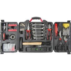 Набор инструмента 140 шт., пластиковый чемодан, арт. 65148