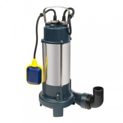 Насос дренажный фекальный с режущим механизмом Oasis FR-110R 300л/мин, напор 11 м, 1100Вт, max погр