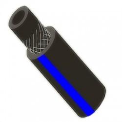 Рукав газовый ВРТ, Ø 6,3 мм, ЧЕРНЫЙ с синей полосой (50 м), III кл