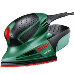 Шлифмашина виб. Bosch PSM 100 A (100Вт, 26000 колеб/мин, ампл 1,4 мм),  06033B7020